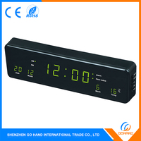 High End Promotion 1.2''/0.5'' LED Display Alarm Calendar Clocks With Radio Fm