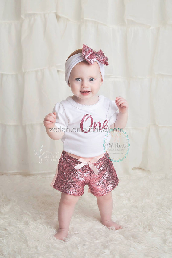 girls classic sequin shorts with bow toddler baby sequin short&trousers winter