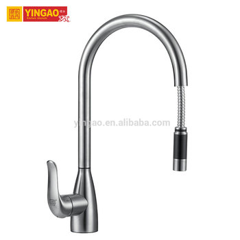 Factory manufacture pop up new style european wall mounted kitchen faucet