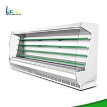 5 Layers Upright Vegetable Display Cabinet Deli Chiller