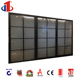 Glass Panel Sectional Electric Vinyl Garage Aluminum Glass Front Doors