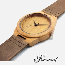 Mens Wrist Wood Watch Eco-friendly Unisex Western Watches Japan Movt Fashion Watch