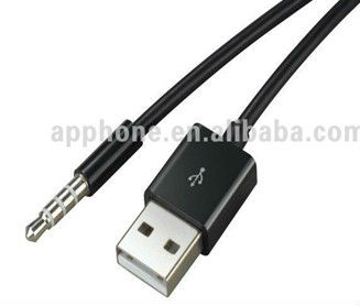 3.5mm Jack Usb To Av Audio Output Cable Adapter For Apple Ipod ...