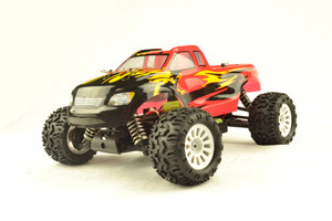 Wholesale 1 10 brushed rc model, mini monster truck, rc car toy on land