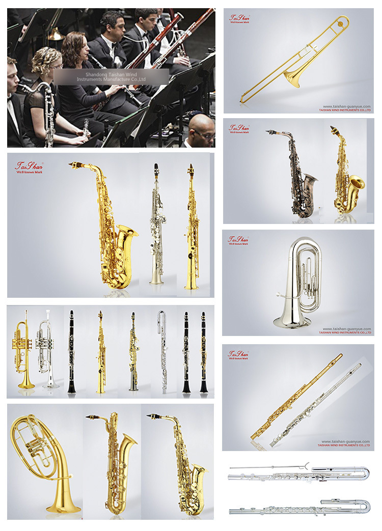 Musical instrument TSBS-680 professional gold lacquer baritone saxophone,  View Musical instrument, TAISHAN Product Details from Shandong Taishan Wind