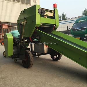 used Farm tractor attachment hay and straw baler machine