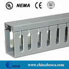White/Gray Slotted PVC Cable Trunking (UL, IEC, SGS and CE)