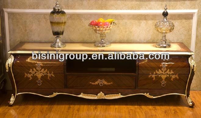 Classique Antique marqueterie de Style européen meuble TV et ...