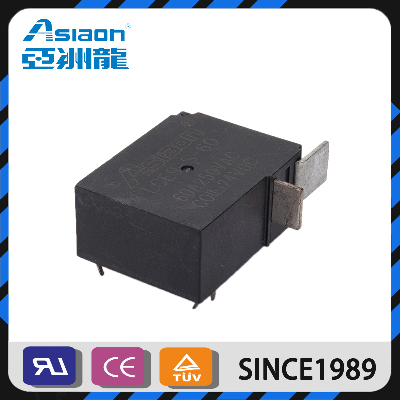 ASIAON Wenzhou High Quality DC 12V Automotive 60A Latching Relay