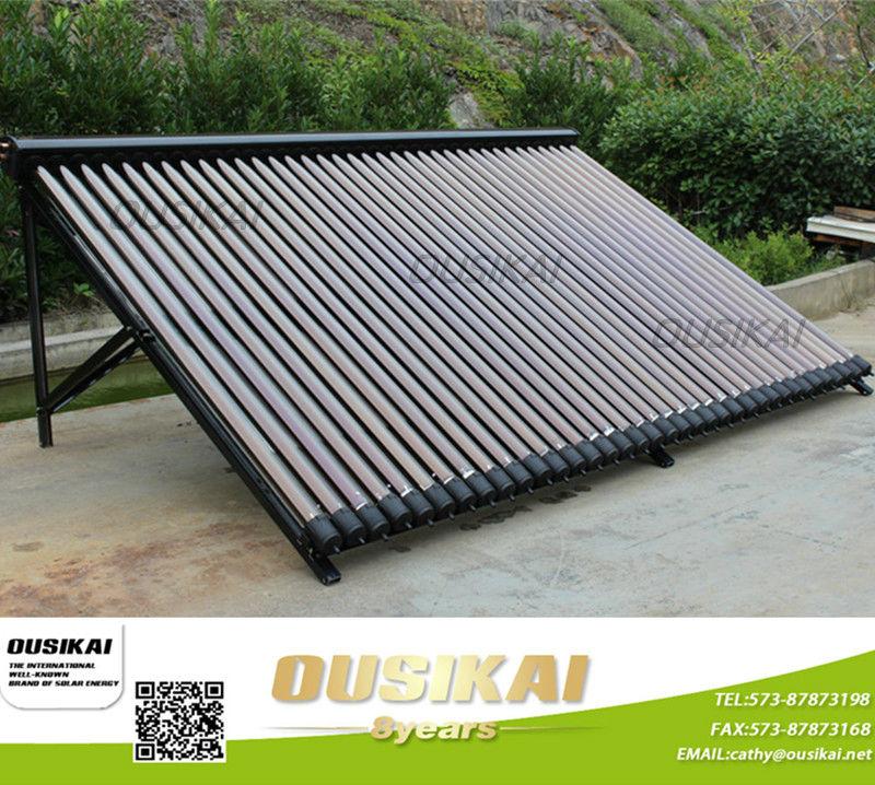 chinois c l bre marque ousikai tubes sous vide capteur solaire panneau avec caloduc capteur. Black Bedroom Furniture Sets. Home Design Ideas