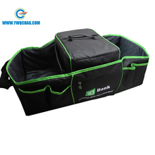 Foldable Outdoor Storage Garbage Trash Bin Premium Car Trunk Organizer Cooler Bag with Cover