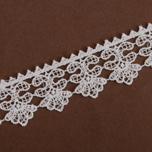 embroidery polyester trim design chemical lace