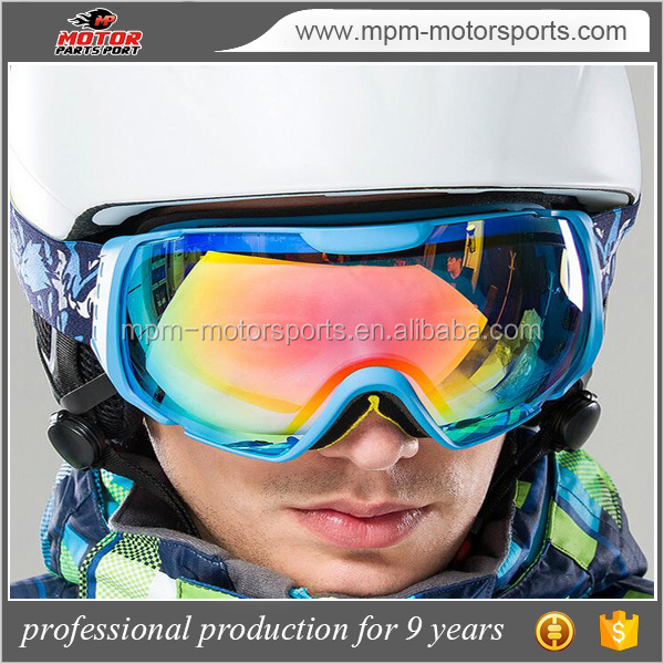 men and women skiing glasses with double anti - fog spherical for climbing motocross hiking ect