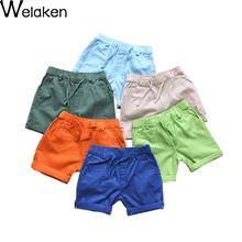Hot Sale 2016 Children Shorts Summer Solid Casual Kids Trouser Outerwear Comfortable Wear Baby Boys Shorts