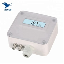24VDC Differential Pressure Transmitter Tekanan Rentang Adjustable