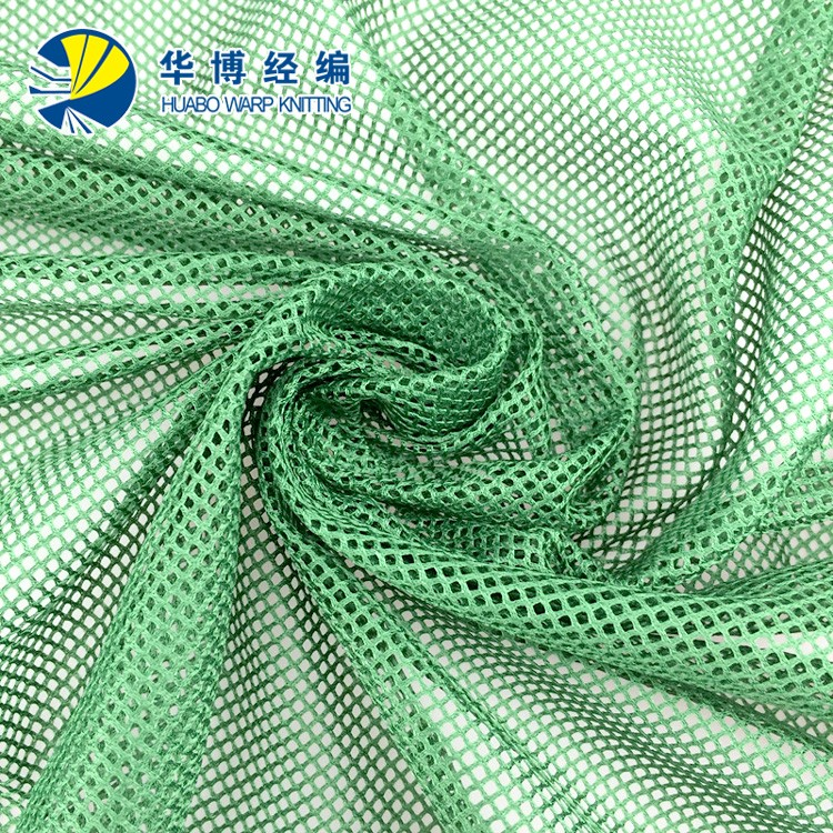 Polyester Mesh Fabric With Pale Green Spangle Embroidery For Bags