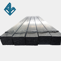 ASTM A53 Q235 Mild Carbon steel Welded Galvanized Black SHS CHS RHS Steel Pipe Tube
