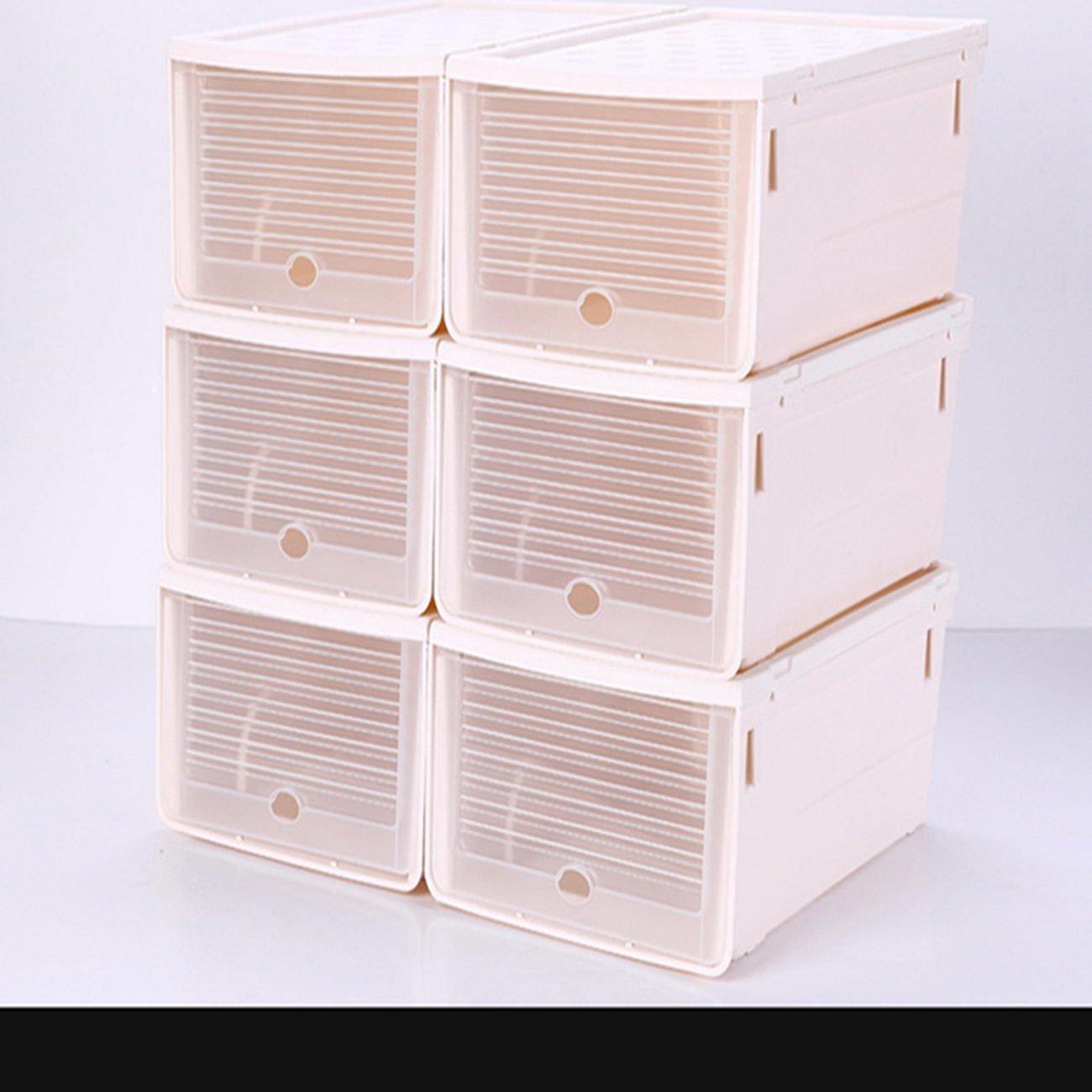 jii2030shann finishing box shoe boxes shoebox thick clamshell storage box plastic plastic shoes storage box shoe box, finishing box shoe box