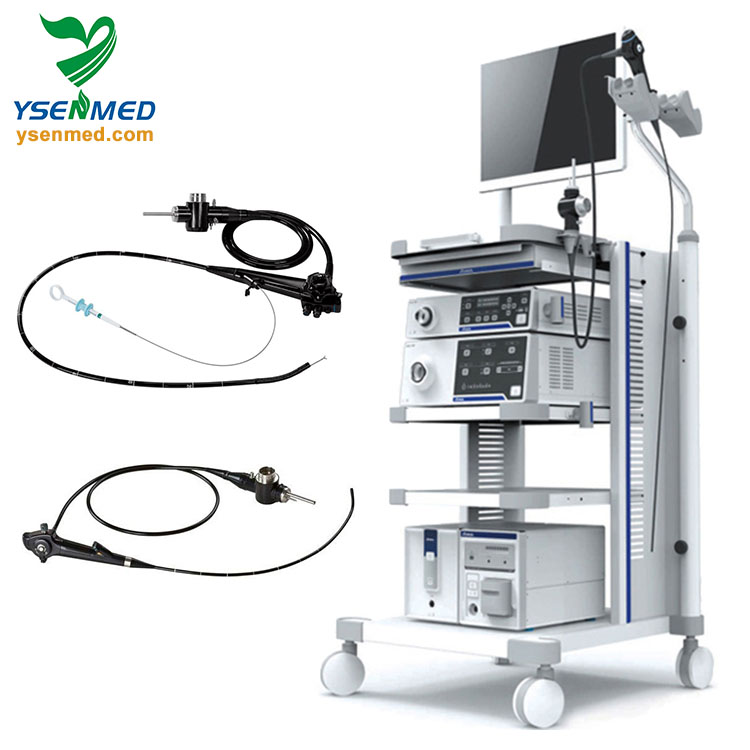 High quality good price hospital medical equipment video bronchoscope and video laryngoscope for sale