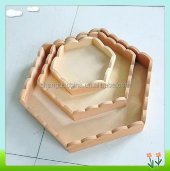 Hexagon wooden food plate  sc 1 st  Alibaba & Hexagon Wooden Food Plate - Buy Food Warming PlateFood Serving ...