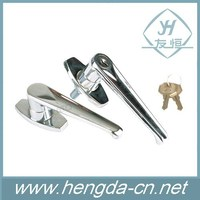 Office Electrical Cabinet Thread Mounting Metal Press Type Lever Lock