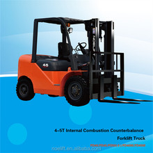 4.0T/4.5T/5.0T 3-6m CE certificate New 3ton Diesel Forklift CPCD50 with forklift solid tire