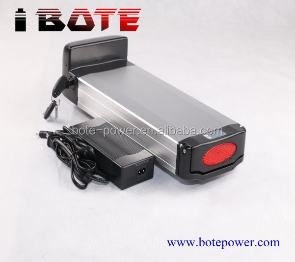 rechargeable36V lithium ebike battery pack 36v 17ah li ion electric bike battery with 20A BMS
