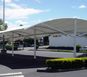 Alibaba Manufacturer Car Parking Steel Structurecar Awning