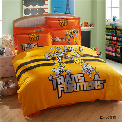 Online Get Cheap Transformers Bed Set Aliexpress Com