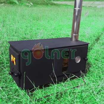 China Supplier Wood Burning Boiler Multi Fuel Stove Outdoor Tent Burning Long Wood Stove