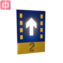 Led traffic sign electronic road safety sign