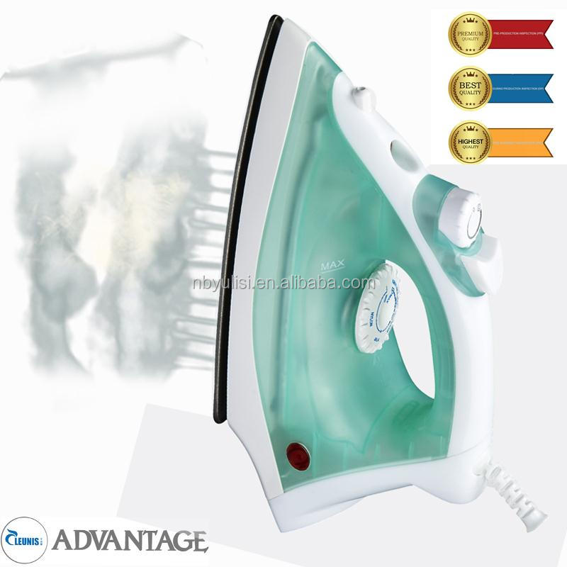 Plastic vertical spare parts clothes industrial made in China electric steam iron