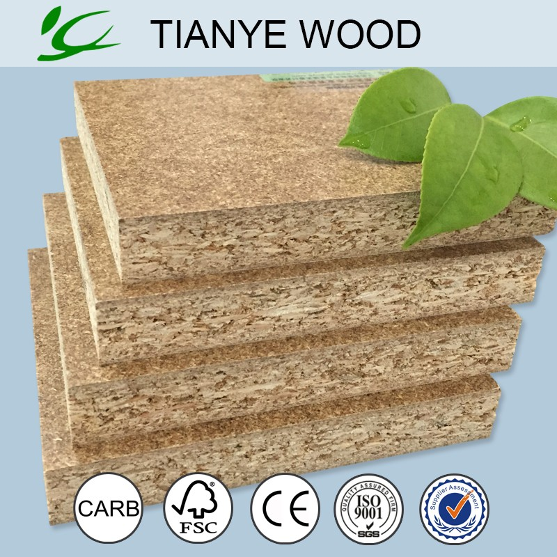 High density high strength wood chips particle board