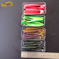 24 pieces Pesca Noeby 10cm 5g soft lures isca shad for UL Fishing swimbaits soft fishing