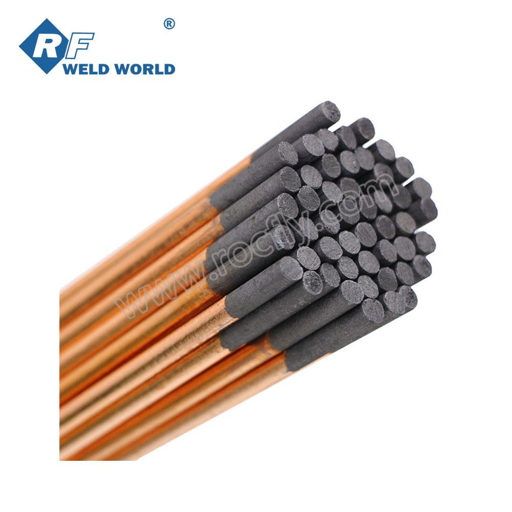 "Copper Coated Gouging Carbon 5//32/"" x 14/"" Gouging Electrodes Pointed 2pcs"