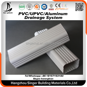 5 7 k style house drainage system pvc rain gutter pipe clamp