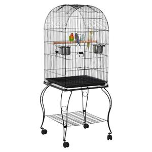 Hot Sale bird cage pigeons parrots Cockatoo Cockatiel Parakeet pet breeding cages metal animal house with wheel