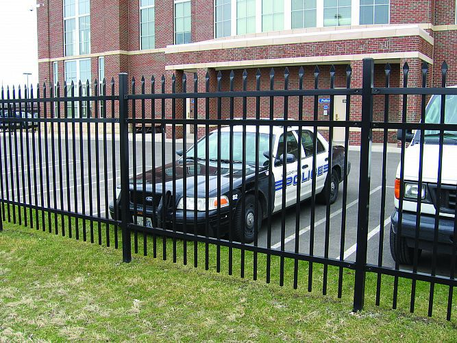 Wholesale Price Cheap Faux Wrought Iron Fence Panels For