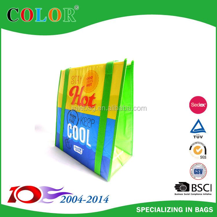 OEM insulated pp non woven cooler bag