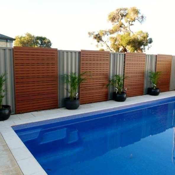 Composto barato pain is de veda o em madeira para piscinas cerca da fronteira cercas treli as - Recinzioni per piscine ...
