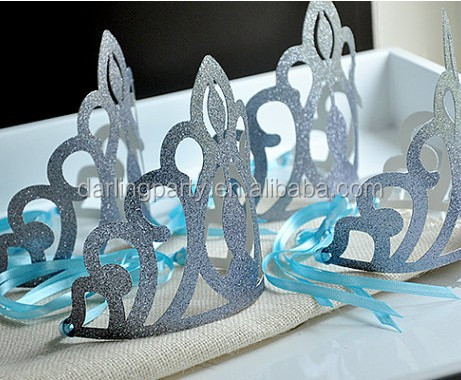 wedding party paper crown