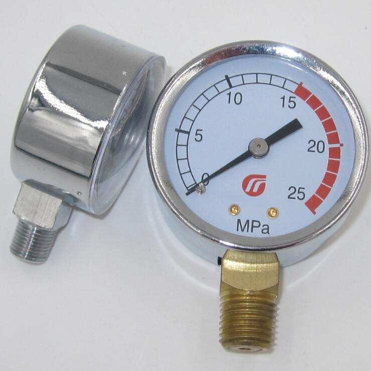 high precision vacuum lpg pressure regulator with gauge