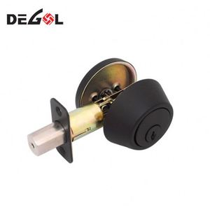 Armored Door Mortise Lock Square 40Mm Backset Brass Deadbolt Body