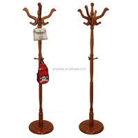 2015 Hot sale wood clothes/coat/bag/velvet/scarf/suit stand rack/hanger