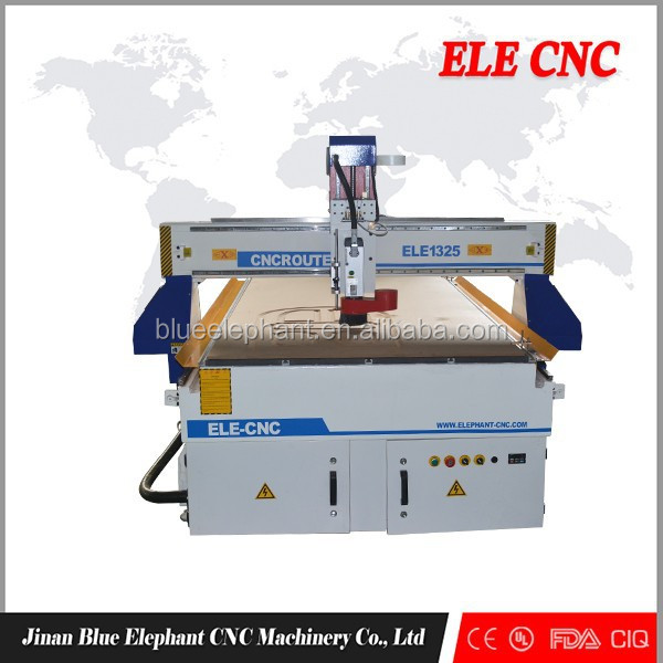 ELE 1325 ucancam software cnc engraver/ wood working high speed cnc router