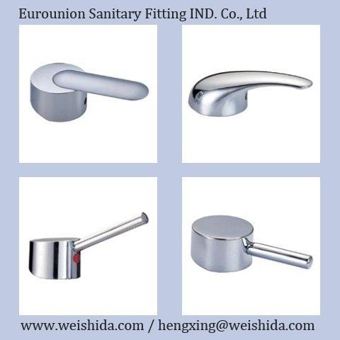 Zinc Alloy Faucet Single Handle Handwheel Bathroom Faucet Accessories  Wholesales Faucet Parts