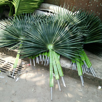fake coconut leaves artificial kwai leaves artificial decorative palm tree leaves