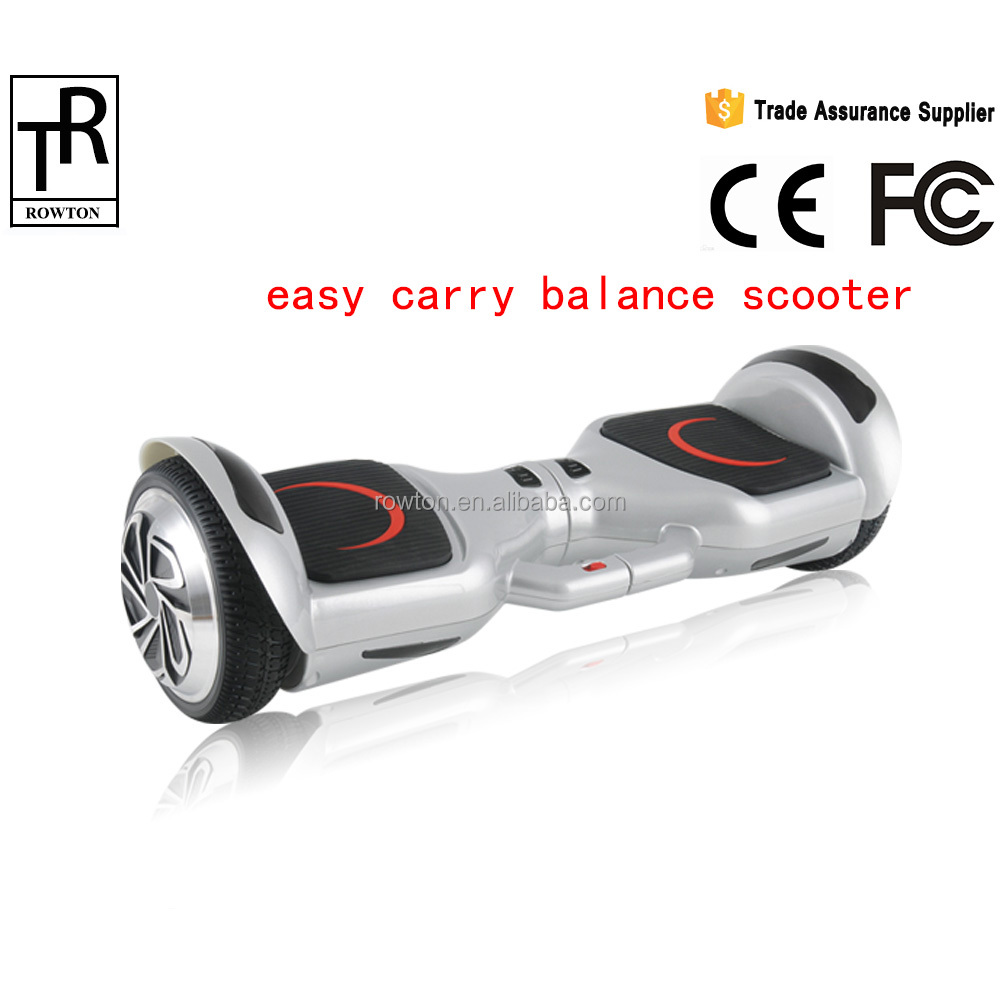 easy pick up electric scooter balance scooter with handle bar bluebooth drift car
