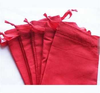 Drawstring Gift Bag Pull String Bags Muslin Cotton Candy 6 Bottle Wine Cooler Product On