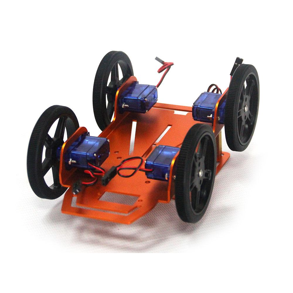 500005907873 Kit De Produit Intelligent Robots 4 Wd Moteur Jouet Arduino Bricolage Voiture Id Robot Châssis Pour JT1lFKc